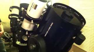 MEADE LX90 EMC Schmidt-Cassegrain Quick Review...