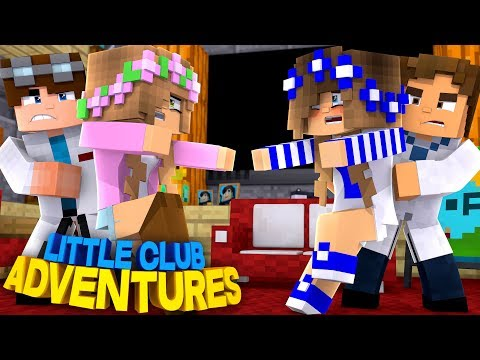 LITTLE KELLY & LITTLE CARLY ARE NOT REAL SISTERS!!! - Minecraft Little Club Adventures