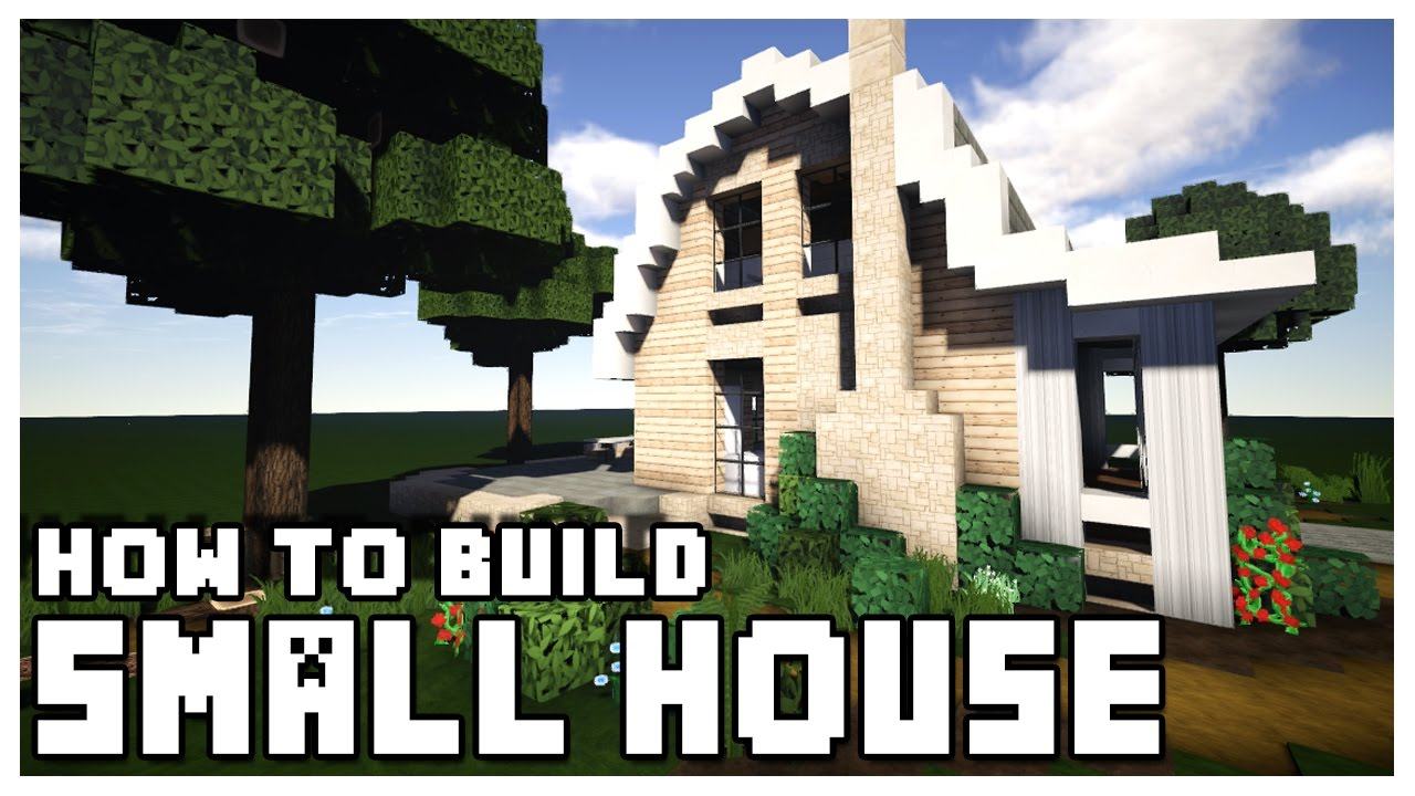 minecraft: how to make a small house + download - youtube