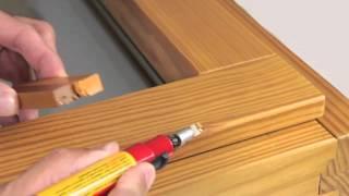 Oprava povrchu dřevěných oken a eurooken