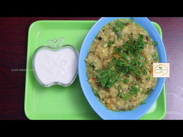 Whole Wheat and Vegetable Khichdi recipe | Low Cholesterol Foods