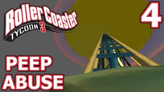 Peep Abuse (RollerCoaster Tycoon 3) - Part 4 - TO THE MOON