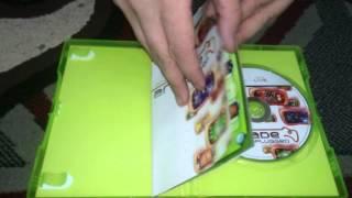 Nostalgamer Unboxes Xbox Live Arcade Unplugged Volume One 1 Microsoft Xbox 360 PAL Version
