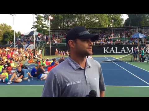 Andy Roddick returns to Kalamazoo for the 2017 USTA Boys National Championships