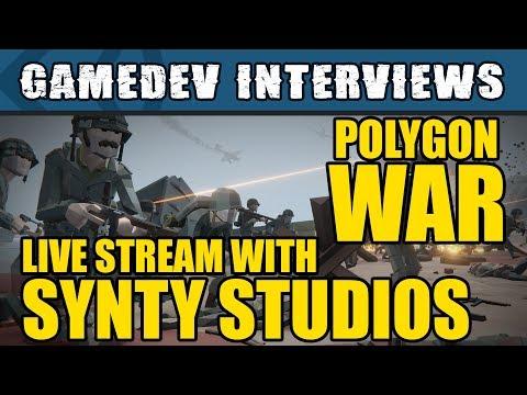 Unity Interviews - Synty Studios Polygon War Pack (50% off!)