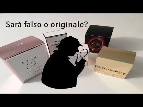 COME DISTINGUERE UN PROFUMO FALSO DALL'ORIGINALE