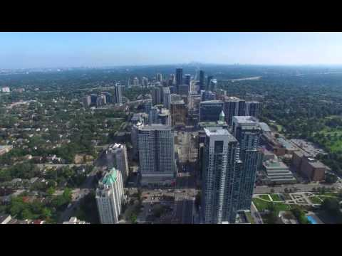 The Greater Toronto Area - 無人機視頻