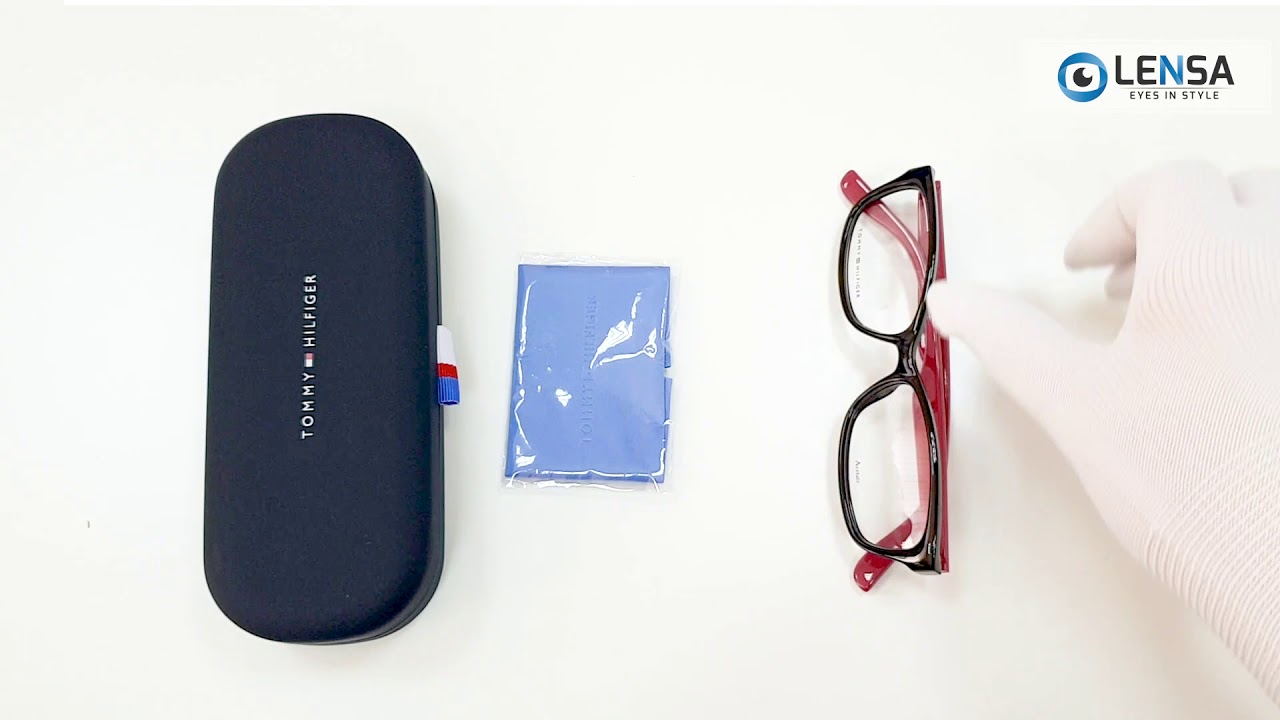 Unboxing rame ochelari de vedere dama TOMMY HILFIGER (S) TH 1491 807 –  LENSA.RO 16821d00348