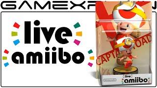 Live amiibo?! Leaked AR Footage (April Fools!)