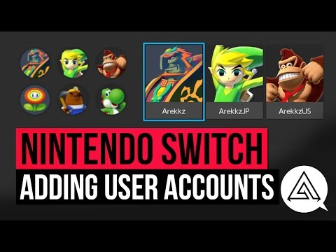 Nintendo Switch | How to Add Multiple User Profiles