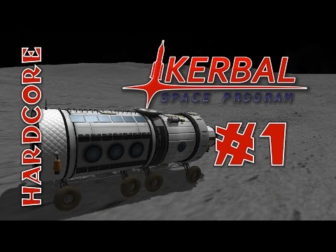 Kerbal Space Program - Hard Mode Mods! - Ep #1 - [RemoteTech, TAC Life Support, KAS/KIS]