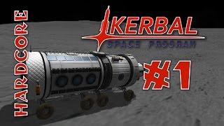 Kerbal Space Program - Hard Mode Mods! - Ep #1 - [RemoteTech, TAC Life Support, KAS/KIS]