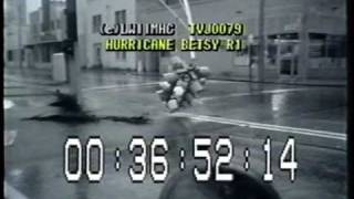 Hurricane Betsy 1965!  Part-4  Gales and Floods Hit Miami-Ft.Lauderdale!