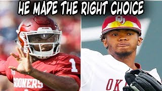 What Will Happen to Kyler Murray?  Why I THINK He Made The Right Choice!