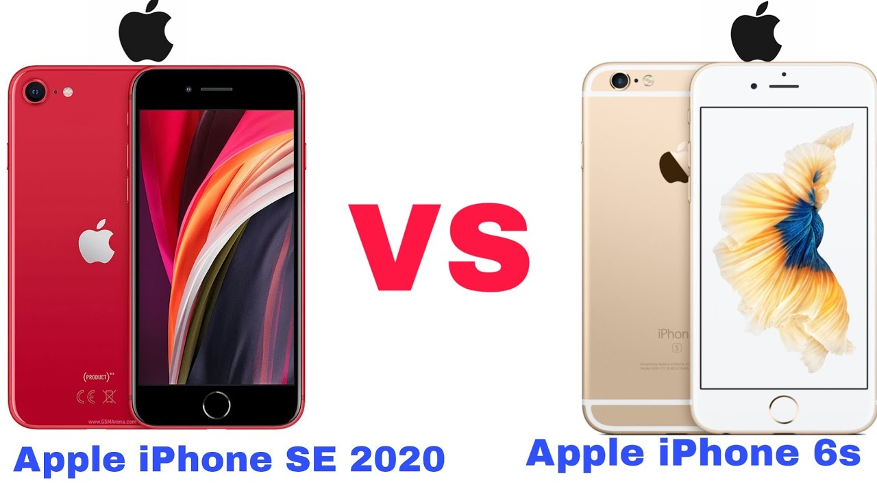 NEW! Apple Iphone SE 2020 vs Apple iPhone 6s   Full ...
