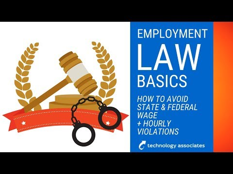 Avoiding State and Federal Wage and Hour Violations - Soule Employment Law Firm - Part 1