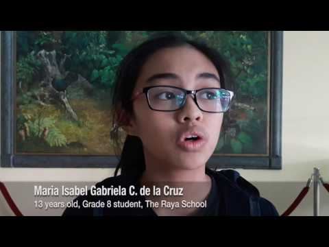 Kids perform musical on martial law