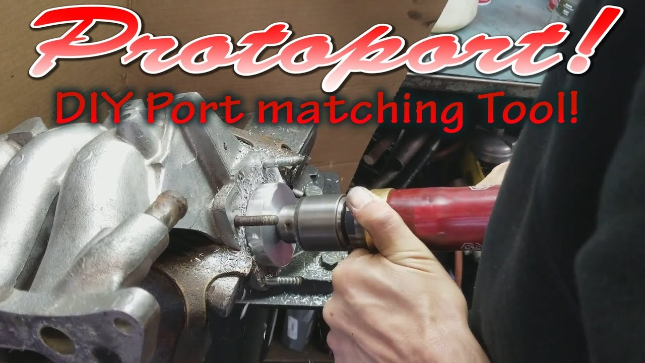 Protoport - DIY porting tool for port matching intake manifolds with  throttle bodies