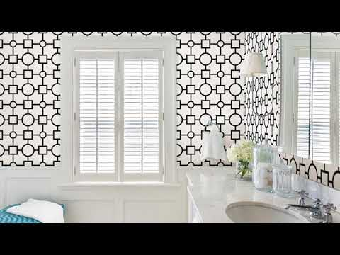 Modern Wallpaper Designs for India Bathroom