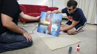 How To Build A Wooden Frame To Mount Your Canvas Art