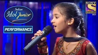 Sugandha's Enchanting Performance On 'Dil Ko Hazar Baar'   Indian Idol Junior