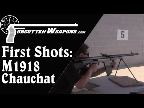 M1918 Chauchat: First Shots (Will It Work?)