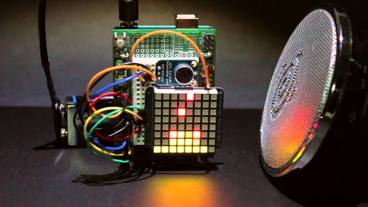 Overview | Tiny Arduino Music Visualizer | Adafruit Learning