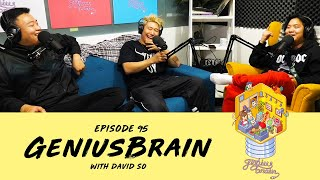 Gambar cover A Second Chance at Rap and the Immigrant Hustle ft. YOX - Ep 95 - Genius Brain w/David So