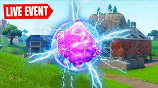 *NEW* FORTNITE RIFT CRACKING EVENT!!! CUBE RETURNING LIVE! (FORTNITE BATTLE ROYALE)