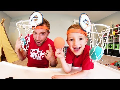 Father & Son PLAY BASKET HEAD!