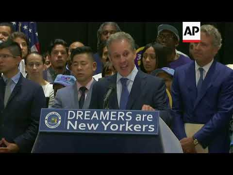 New York files federal lawsuit over DACA decision