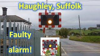 *Faulty Alarm* Haughley Level Crossing, Suffolk