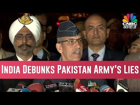 India Debunks Pakistan Army's Lies, Say India's Military Structures Were Their Target