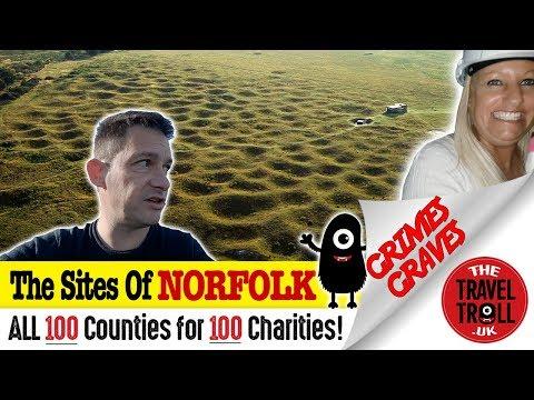 Grimes Graves In Norfolk