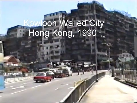 Kowloon Walled City, Hong Kong. 1990