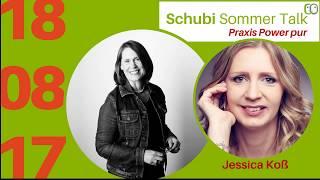 Schubi Sommer Talk mit Jessica Koß - der sanfte Start als Sidepreneur