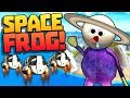 SPACE FROG finds a HUGE SECRET!! || (The Mystery Halloween Box Update) Amazing Frog Gameplay Part 88