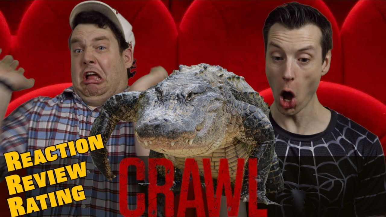 Crawl - Trailer Reaction / Review / Rating