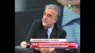 Luis Moreno Ocampo: la SIDE y Stiusso