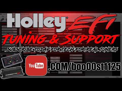 The Brand New Holley Efi 6.86 Inch Pro Dash