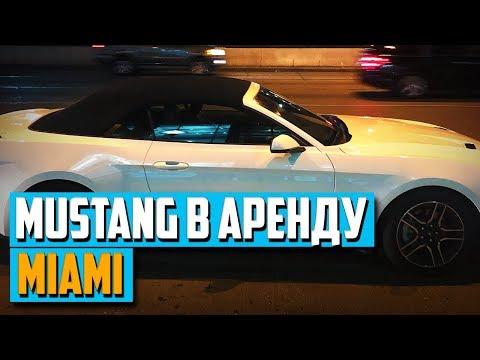 Как взять НОВЫЙ Мустанг в Майами   Аренда машин в США
