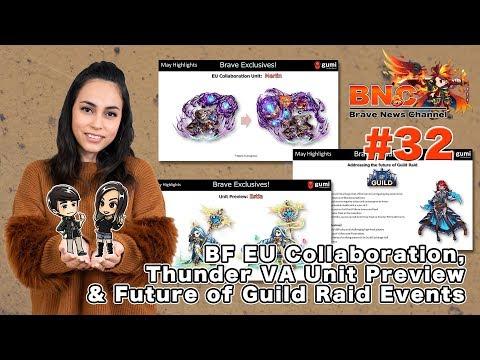 【ブレフロ】【BNC】BF EU Collaboration, Thunder VA Unit Preview & Future of Guild Raid Events【BNC】#32