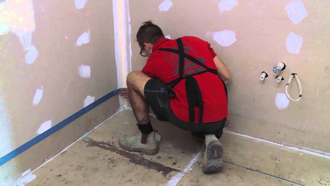 How to waterproof your bathroom floor diy at bunnings youtube dailygadgetfo Gallery