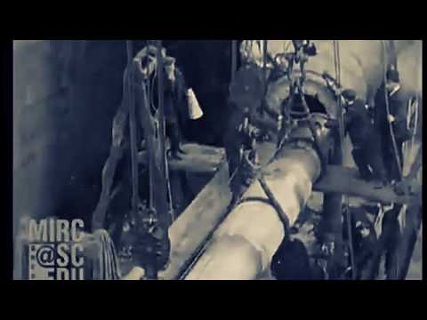 Video Rare, Olympic At The Dry Dock In Maintenance, January 1929
