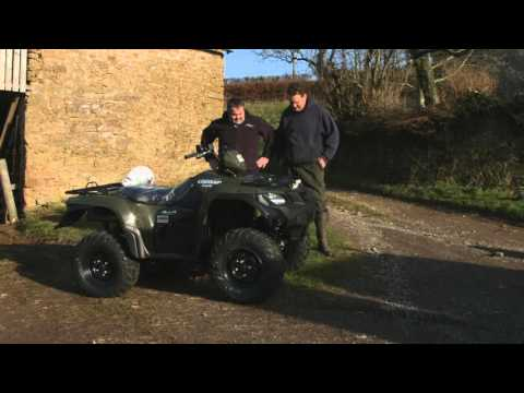 A Farmers Diary- a year with the Suzuki KingQuad 500.