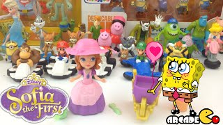 Sofia The First, Mario Kart 8, Disney Frozen, Tom and Jerry, Angry Birds Surprise Eggs, Masha