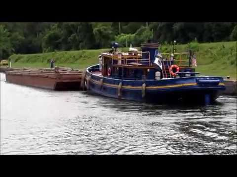 Barging Along on the Erie Canal
