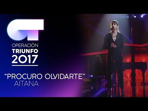 PROCURO OLVIDARTE - Aitana | OT 2017 | Gala 11