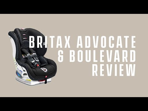 Best Convertible Car Seat 2018 – Britax Boulevard and Advocate ClickTight Review