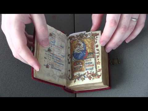 University of Pennsylvania Library's Ms Codex 1566 - Book of hours (Video Orientation)